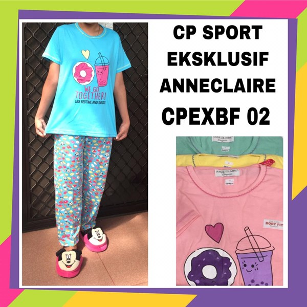 Baju tidur CP sport exclusif anneclaire CPEXBF 02