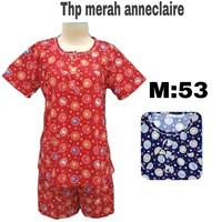 Baju tidur anneclaire THP merah M 53