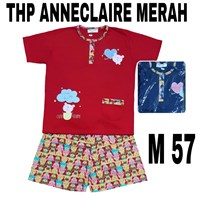 Babydoll Anneclaire THP merah M 57