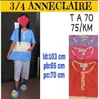 Baju tidur Anneclaire 3/4 T A 70