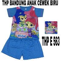 Babydoll Bandung HP E 563 biru cewek uk 14-18