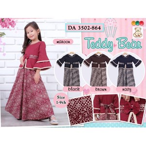 Sell Gamis Anak Teddy Bear 3502 864 From Indonesia By Filia Fashion