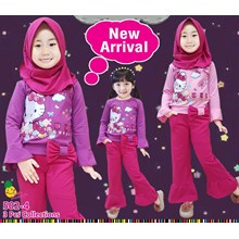 setelan muslim little pineapple 502-4