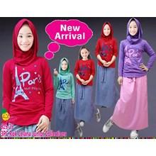 setelan muslim little pineaple ( junior )  629-25