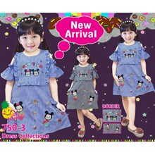 Dress anak little pineapple 750-3