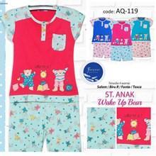 setelan baju tidur anak 3/4 forever AQ 119