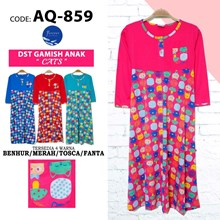 Gamis anak forever AQ 859