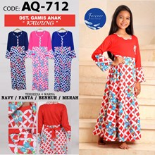 gamis anak forever AQ 382-1