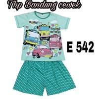 Baju anak Bandung HP E 542 hijau cewek 14-18