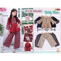 setelan muslim anak teddy bear 3554-1003 (distributor) 1