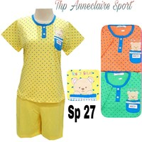 Baju tidur pendek Anneclaire sp 27 1