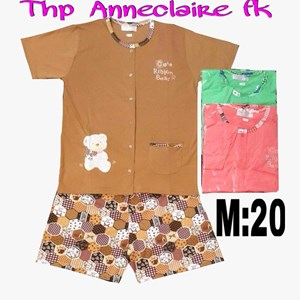 Baju tidur Anneclaire thp m 20