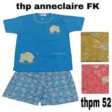 Baju tidur Anneclaire THP full kancing M52
