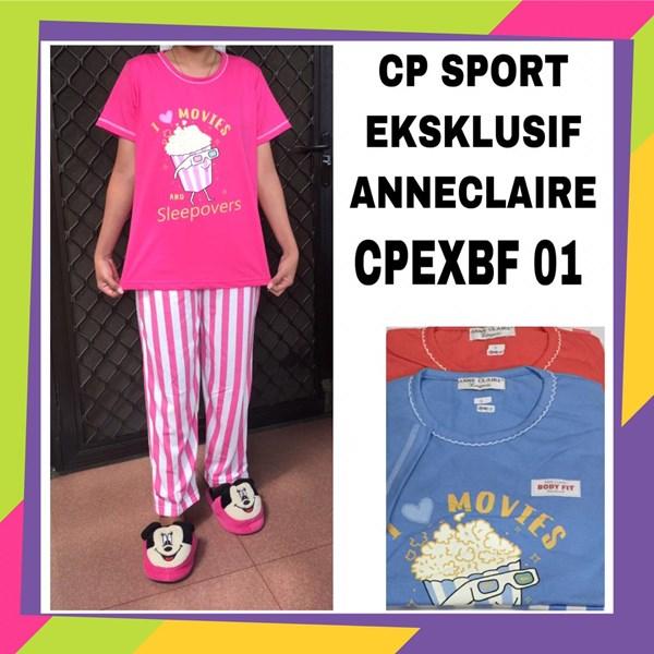 Baju tidur CP sport exclusif anneclaire CPEXBF 01