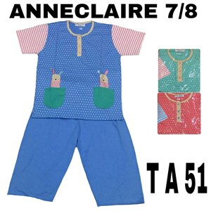 Babydoll 7/8 Anneclaire T A 51