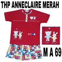 Babydoll Anneclaire THP merah M A 69