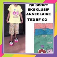 Baju tidur 7/8 sport exclusif anneclaire TEXBF 02