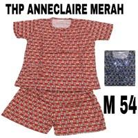 Baju tidur anneclaire THP merah M 54