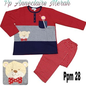 Babydoll Anneclaire ppm (merah) 28