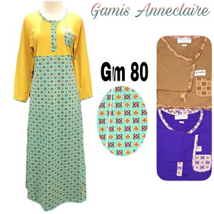 Gamis anneclaire PJG GM-80