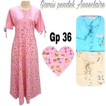 Gamis pendek anneclaire GP-36