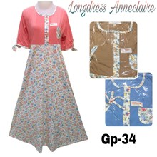 gamis longdress anneclaire GP-34