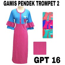 Gamis anneclaire GPT 16 (tangan terompet)