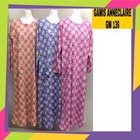 Gamis anneclaire lily white GM 136