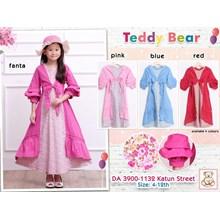 gamis teddy bear anak 3900-1132 (distributor)