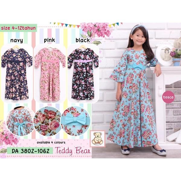 Gamis anak teddy bear 3802-1062 (distributor)