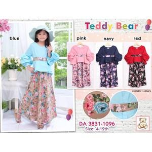 Gamis anak teddy bear 3831-1096 (distributor)