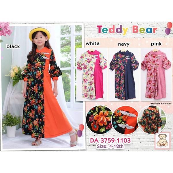 Gamis anak teddy bear 3759-1103