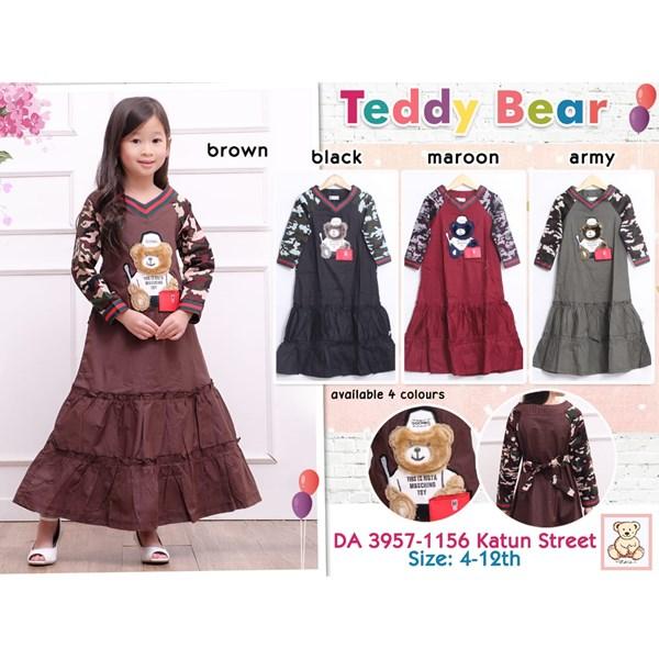 Gamis anak teddy bear 3957-1156
