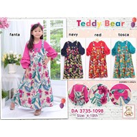 gamis anak teddy bear 3735-1098