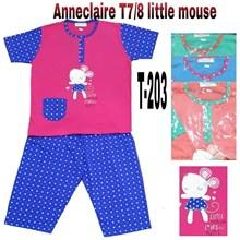 Baju Tidur Anneclaire 3/4 T203