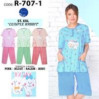 Night Gown 3/4 bigsize xxl R 707-1