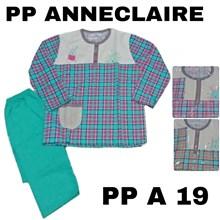 Baju Tidur lengan panjang celana panjang PP A 19