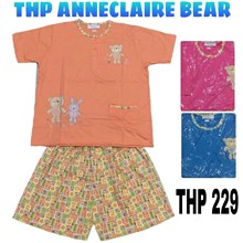Baju Tidur celana pendek lengan pendek THP 229