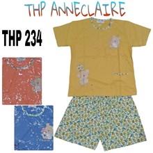 Baju Tidur celana pendek lengan pendek THP 234