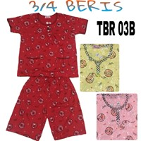 Baju Tidur Beris 3/4 TBR 03B