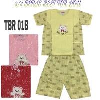 Baju Tidur Beris 3/4 TBR 01B
