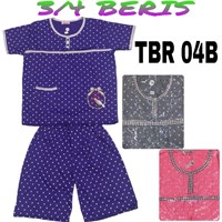 Baju Tidur Beris 3/4 TBR 04B