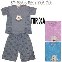 Baju Tidur Beris 3/4 TBR 01A 1