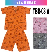 Baju Tidur 3/4 Beris TBR 03A