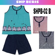 Baju Tidur Beris SHPB 02B