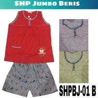 Baju Tidur Beris jumbo SHPBJ 01B 1