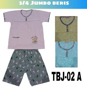 Baju Tidur 3/4 Jumbo Beris TBJ 02A