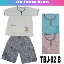 Baju Tidur 3/4 Jumbo Beris TBJ 02B