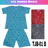 Baju Tidur 3/4 Jumbo beris TBJ 01B 1