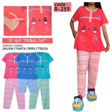 Baju Tidur forever CP bf R 259